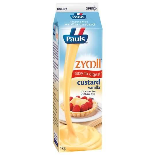 Pauls Zymil Custard Vanilla