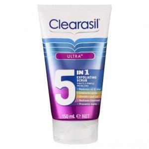 Clearasil Ultra 5 In 1 Scrub