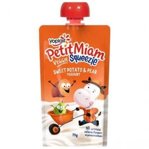Yoplait Petit Miam Pouch Sweet Potato & Pear