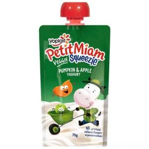 Yoplait Petit Miam Pouch Pumpkin Apple