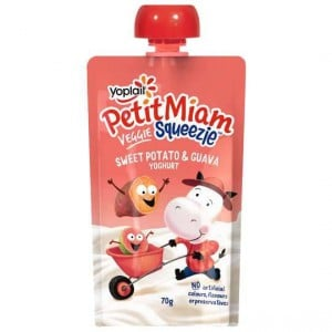 Yoplait Petit Miam Pouch Sweet Potato & Guava