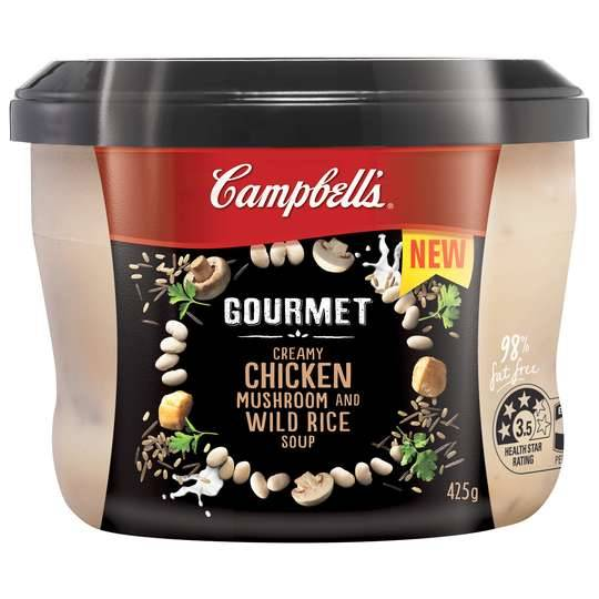 Campbells Gourmet Soup Chicken & Mushroom