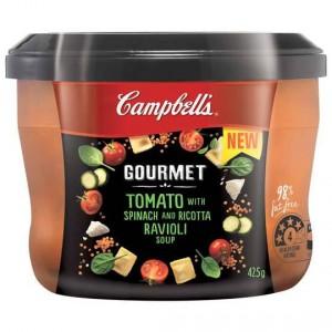 Campbells Gourmet Soup Tomato Ravioli