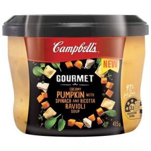 Campbells Gourmet Ravioli Pumpkin