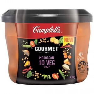 Campbells Gourmet Soup Moroccan 10 Veg