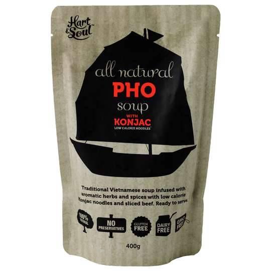 Hart & Soul Pho Konjac Soup Pouch