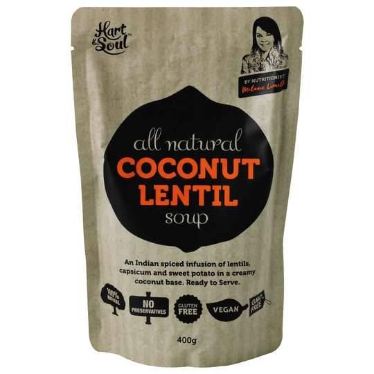 Hart & Soul Coconut Lentil Soup Pouch