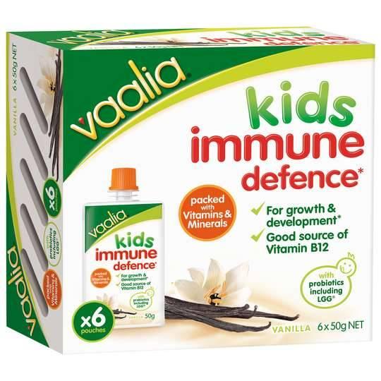 Vaalia Kids Yoghurt Immune Defence