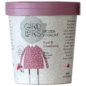 Girdlers Frozen Yoghurt Strawberry Acai