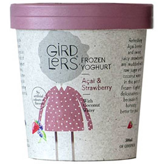 Girdlers Frozen Yoghurt Strawberry Acai