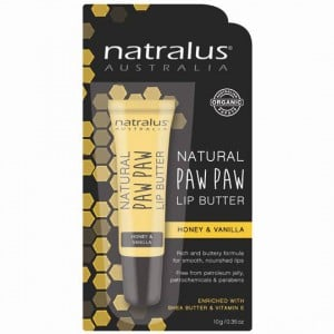 Natralus Paw Paw Lip Butter Honey & Vanilla