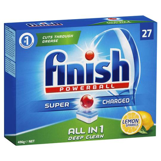 Finish Dishwashing Tablets Max In