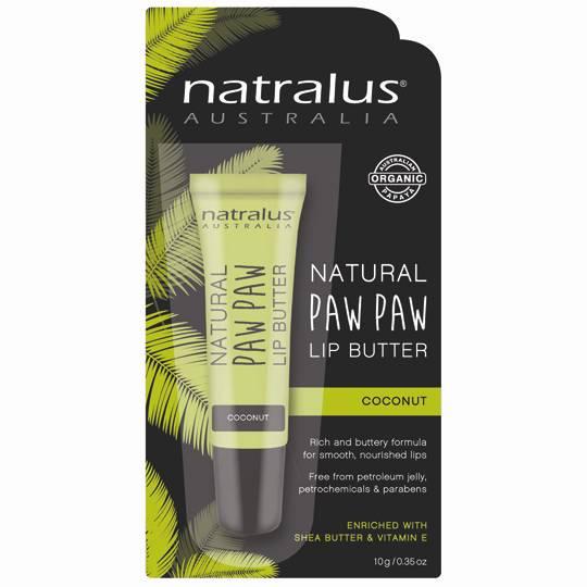 Natralus Paw Paw Lip Balm Coconut Oil