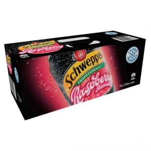 Schweppes Traditional Raspberry Cans