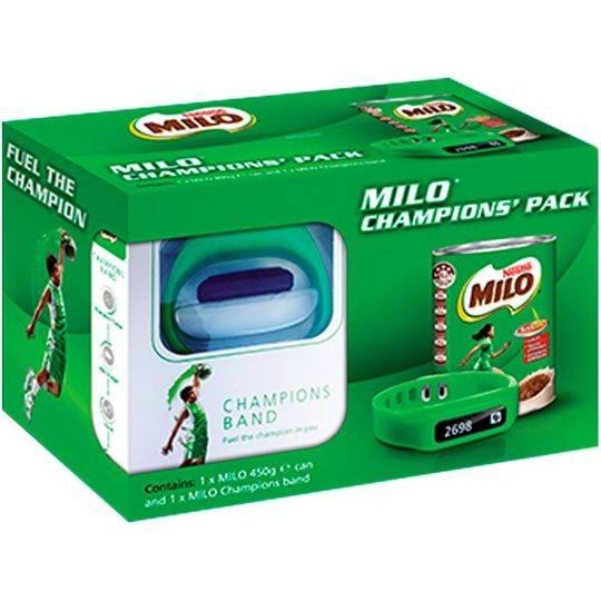 Milo Champion Pack