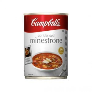 Campbells Canned Soup Minestrone