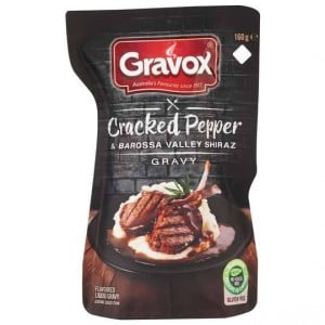 Gravox Gravy Cracked Pepper & Shiraz