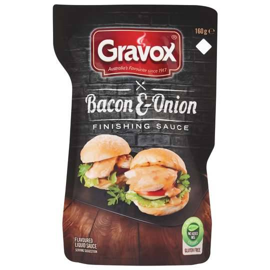 Gravox Finishing Sauce Bacon & Onion