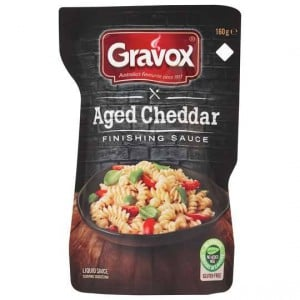 Gravox Finishing Sauce Aged Cheddar