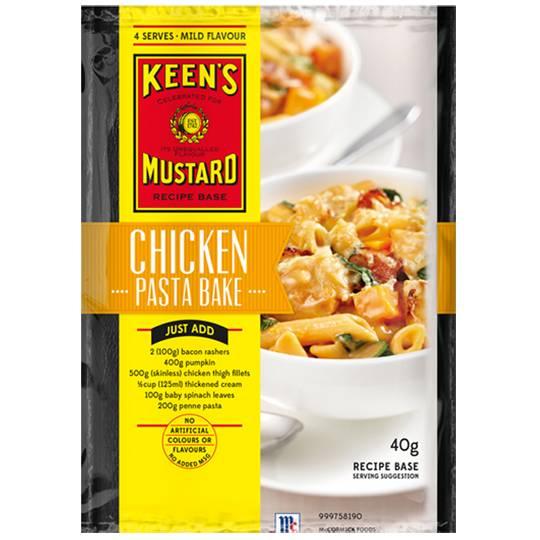 Keens Recipe Base Chicken Pasta Bake