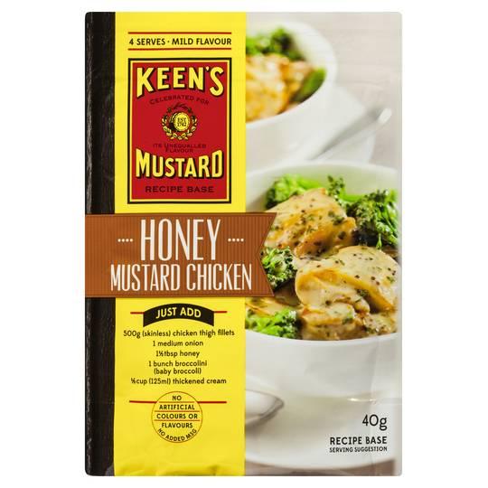 Keens Recipe Base Honey Mustard Chicken