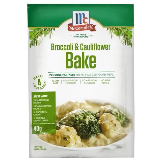 Partners Recipe Base Broccoli & Cauliflower Bake