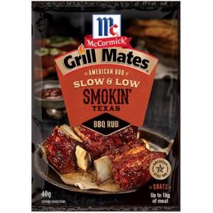 Mccormicks Grill Mates Smokin Texas Bbq Rub