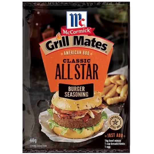 Mccormicks Grill Mates All Star Burger Seasoning