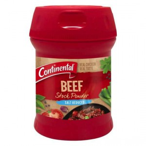 Continental Beef Stock Powder Salt Reduced