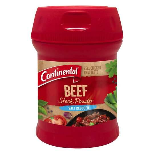 Continental Beef Stock Powder Salt Reduced