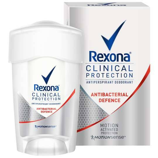 Rexona Clinical Protection Antibacterial Defense
