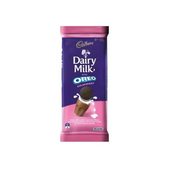 Cadbury Dairy Milk Chocolate Oreo Strawberry