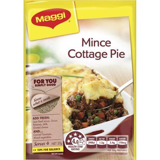 Maggi Mince Cottage Pie Recipe Base
