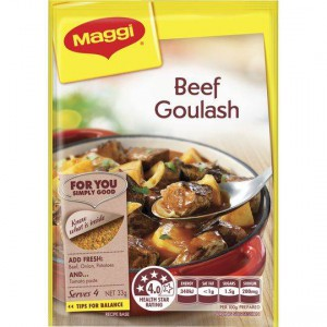 Maggi Beef Goulash Recipe Base