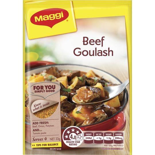 Maggi Beef Goulash Recipe Base