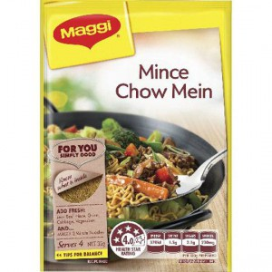 Maggi Mince Chow Mein Recipe Base