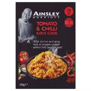 Ainsley Harriot Cous Cous Tomato And Chilli