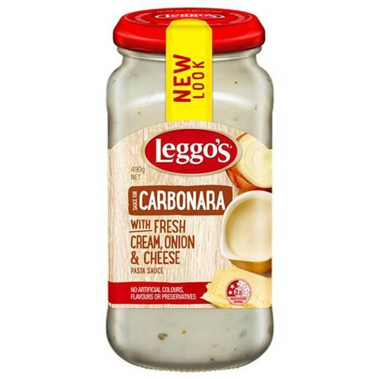 Leggos Pasta Sauce Carbonara