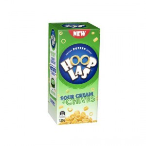 Hooplas Snacks Sour Cream & Chives