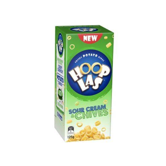 Hooplas Snacks Sour Cream & Chives