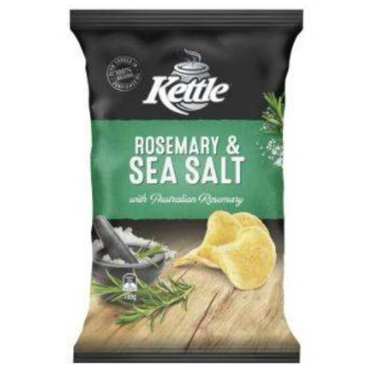 Kettle Chips Sea Salt & Rosemary