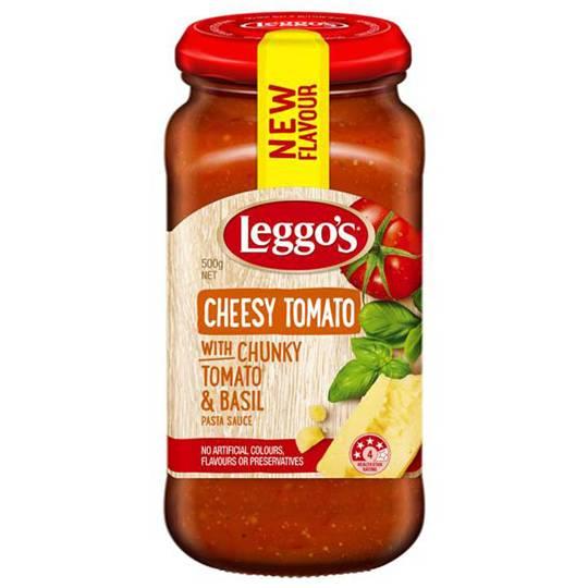 Leggos Pasta Sauce Cheesy Tomato
