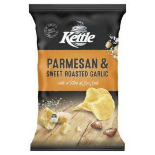 Kettle Chips Parmesan & Garlic