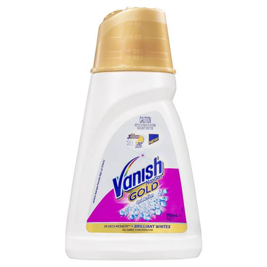 Vanish Gold Stain Remover Oxi Action Crystal White Gel