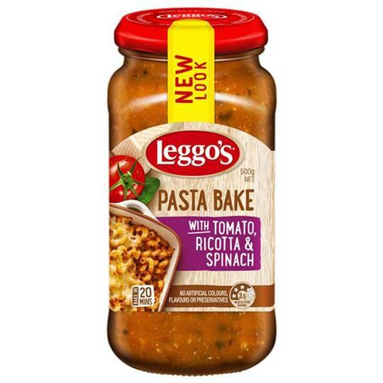 Leggos Pasta Bake Tomato Ricotta & Spinach