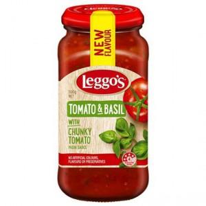 Leggos Pasta Sauce Tomato And Basil