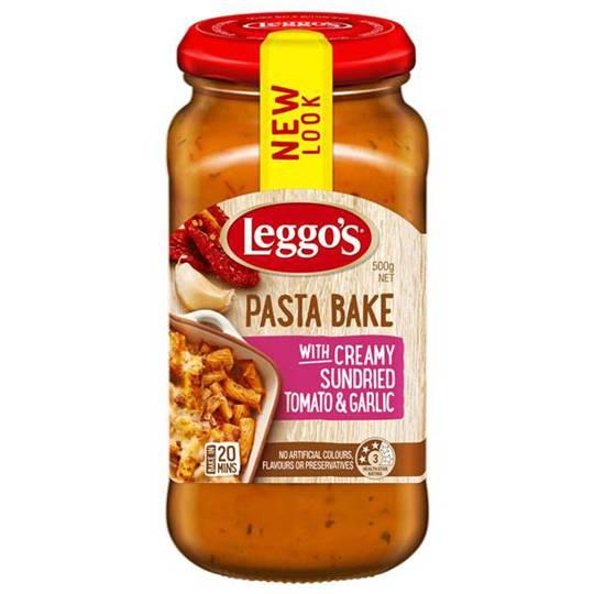 Leggos Pasta Bake Sundried Tomato Garlic