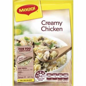 Maggi Creamy Chicken Pasta Recipe Base