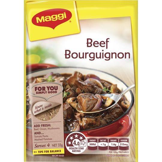 Maggi Beef Bourguignon Recipe Base