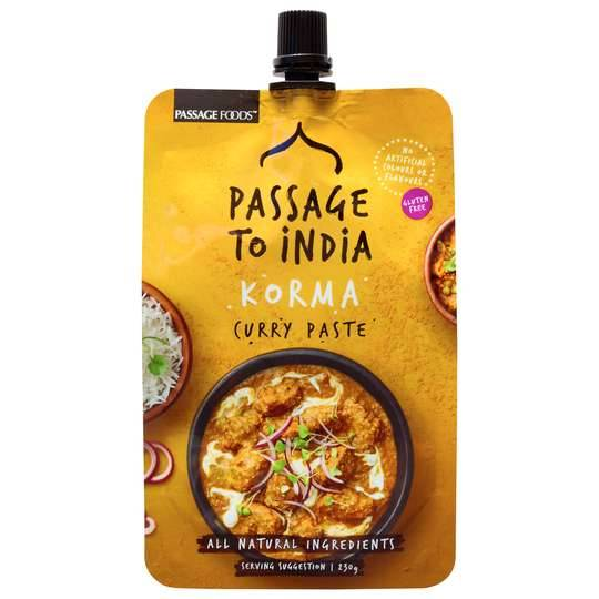 curlytops reviewed Passage To India Korma Curry Paste